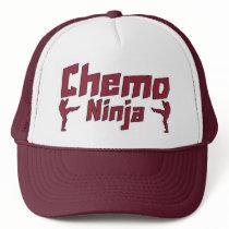 Chemo Ninja Trucker Hat