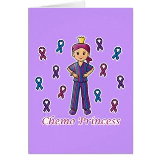 Chemo Princess Card