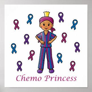 Chemo Princess Posters