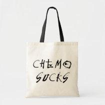 Chemo Sucks - Chemotherapy Cancer Patient Survivor Tote Bag