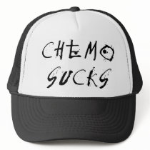 Chemo Sucks - Chemotherapy Cancer Patient Survivor Trucker Hat