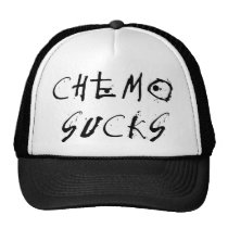 Chemo Sucks - Chemotherapy Patient Survivor Trucker Hat