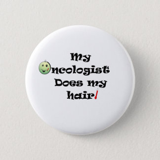 ChemoHair Blk Ltrs Button
