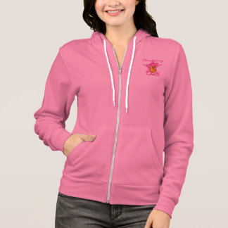 Chemotherapy Chick #8 Hoodie
