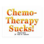 Chemotherapy Sucks! Postcard