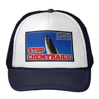 CHEMTRAIL AWARENESS - STOP CHEMTRAILS HAT
