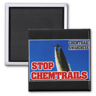 CHEMTRAIL AWARENESS - STOP CHEMTRAILS MAGNET