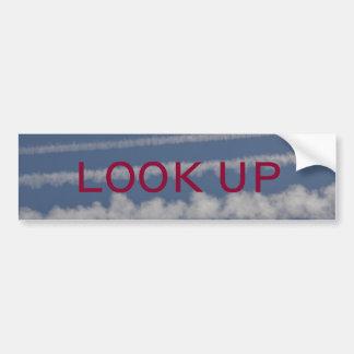 Chemtrail Bumper Sticker