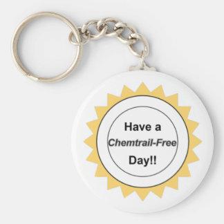 Chemtrail Free Day - Keychain
