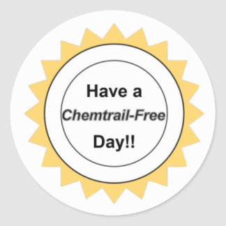 Chemtrail Free Day - Stickers