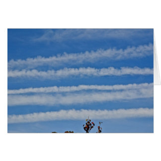 Chemtrail Notecard Stationery Note Card