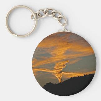 Chemtrail Sunset Key Chains