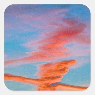Chemtrail Sunset Sticker