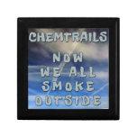 Chemtrails- ahora nosotros todo el humo afuera cajas de regalo