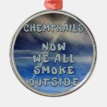 Chemtrails- ahora nosotros todo el humo afuera ornamento de reyes magos