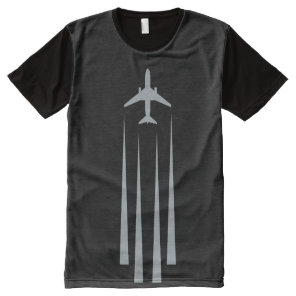 Chemtrails All-Over-Print T-Shirt