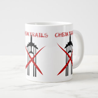Chemtrails Are Wrong Large Coffee Mug