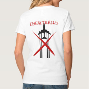 Chemtrails Are Wrong light tshirt