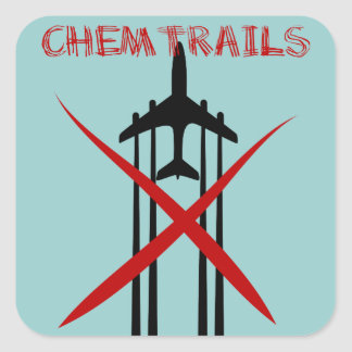 Chemtrails Are Wrong Stickers