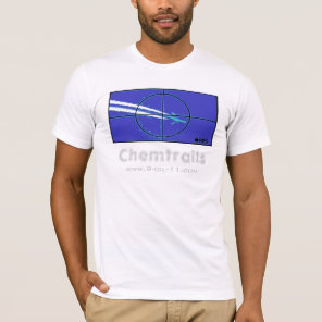 Chemtrails Blue Target Shirt
