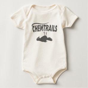 CHEMTRAILS DEATH DUMPS BABY BODYSUIT