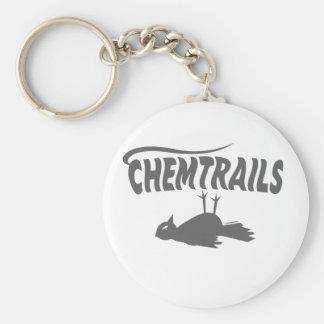 CHEMTRAILS DEATH DUMPS KEYCHAIN