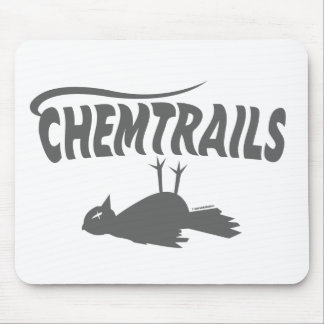 CHEMTRAILS DEATH DUMPS MOUSE PAD