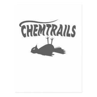 CHEMTRAILS DEATH DUMPS POSTCARD