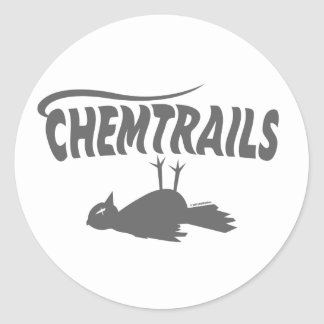 CHEMTRAILS DEATH DUMPS STICKERS