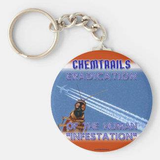 Chemtrails - Eradication of the Humans Key Chains