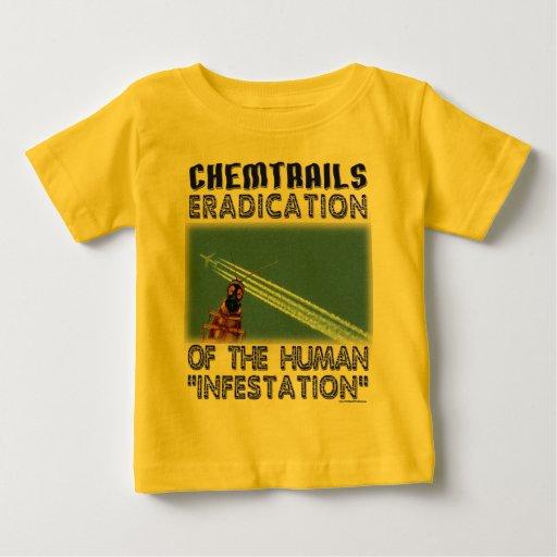 Chemtrails - erradicación de los seres humanos t shirts