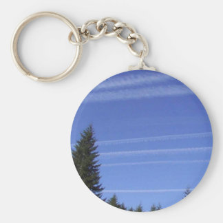 Chemtrails In Northwestern USA Keychain