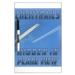 Chemtrails in Plane View Dry Erase Boards
