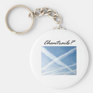 Chemtrails Keychain