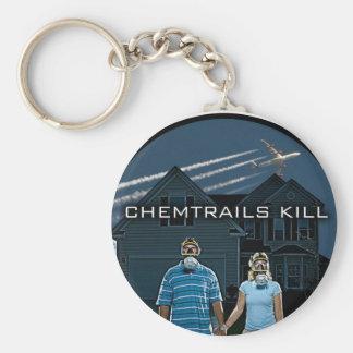 CHEMTRAILS KILL KEY CHAINS