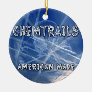 Chemtrails - Made in America Christmas Ornaments