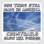 Chemtrails - Made in America Sticker