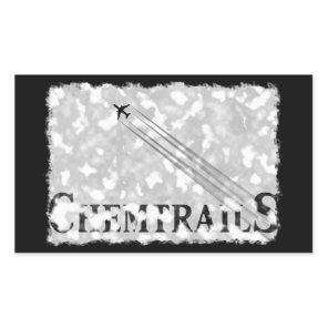 ChemtrailS Rectangular Sticker