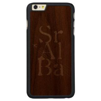 Chemtrails Sr+Al+Ba Carved® Walnut iPhone 6 Plus Case