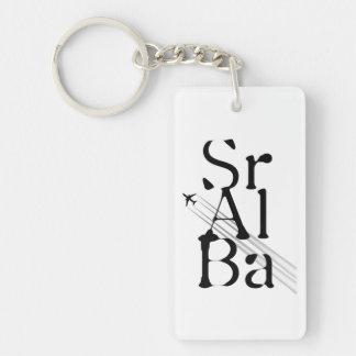 Chemtrails Sr+Al+Ba Keychain