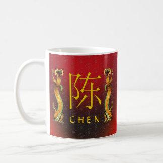 Chen Monogram Dragon Coffee Mug