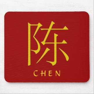 Chen Monogram Mouse Pad