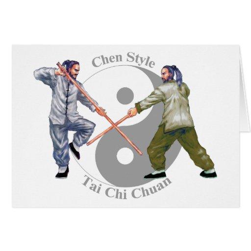 Chen Style Taiji Chuan Card