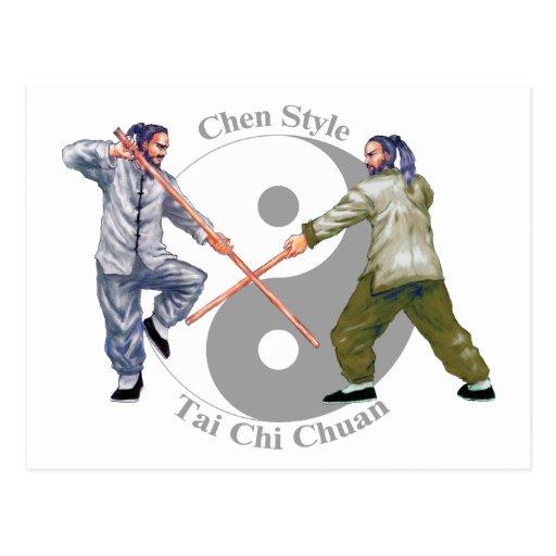 Chen Style Taiji Chuan Postcard