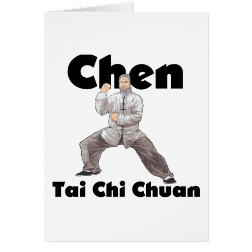 Chen Tai Chi Chuan Greeting Cards
