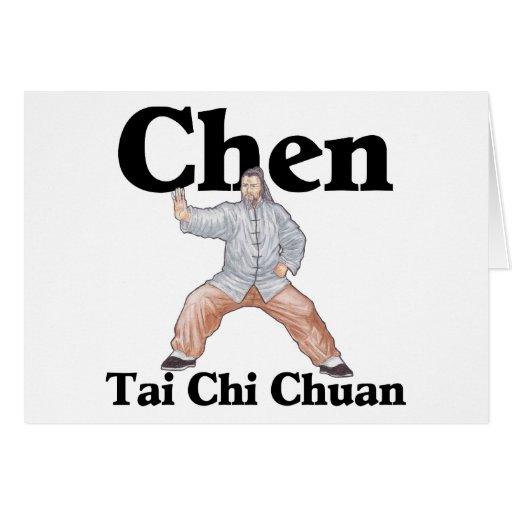 Chen Tai Chi Chuan Cards