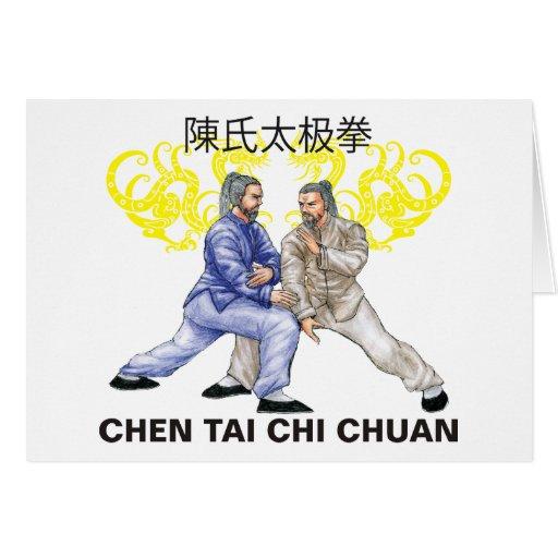 Chen Tai Chi Chuan Greeting Card