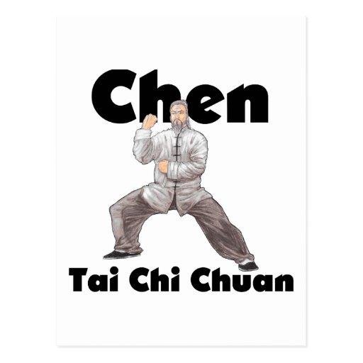 Chen Tai Chi Chuan Postcards