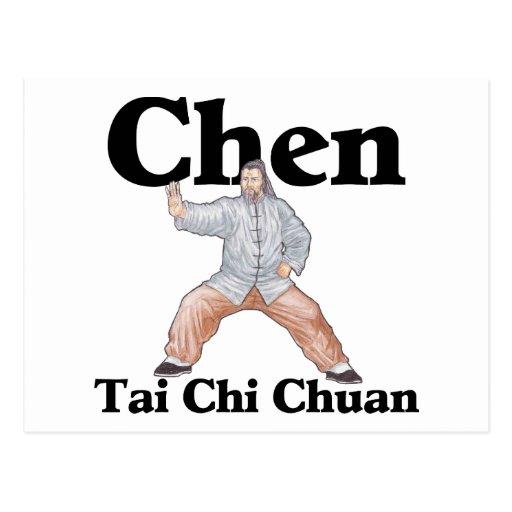 Chen Tai Chi Chuan Post Card