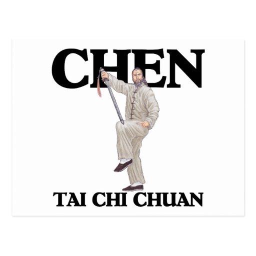 Chen Tai Chi Chuan - Straight Sword Post Cards